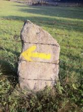 Waymark on the Camino de Santiago